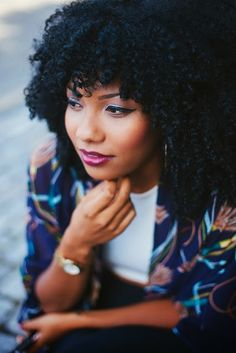 5 Tips to Get Long, Healthy, Gorgeous Natural Hair! | Curly Nikki | Natural Hair Styles and Natural Hair Care
