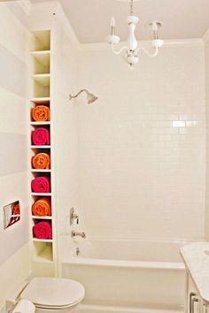 58 cool small bathroom storage organization ideas
