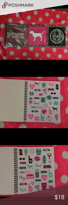 50f6e5e82d Victoria s Secret Pink Lot Of 3 Student Planners Victoria s Secret Pink lot  of 3 student planners