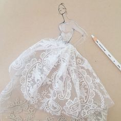 fashion sketches Fashion illustration of wedding dress by Jeanette Getrost Discount Sofa Discount so Dress Illustration, Fashion Illustration Sketches, Fashion Sketchbook, Fashion Design Sketches, Arte Fashion, Paper Fashion, Ideias Fashion, Fashion Painting, Fashion Figures