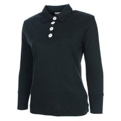 Ashworth Womens Long Sleeve Golf Polo Shirt 12 by Ashworth. $15.99. 100% Pima Cotton. Deep cuffs. Lightweight and comfortable allowing you to swing freely on the golf course. Smart stylish design. Quarter length button neck. The Ashworth Womens Long Sleeve Golf Polo Shirt is lightweight and comfortable allowing you to swing freely on the golf course. Save 60% Off!