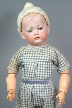 "16"" Rare Kley and Hahn 154 'Tommy Tucker' Pouting Character Boy from kathylibratysantiques on Ruby Lane"
