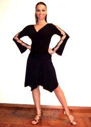 Ballroom dance gown