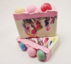 Bubblegum Soap by sugarandspicesoaps on Etsy