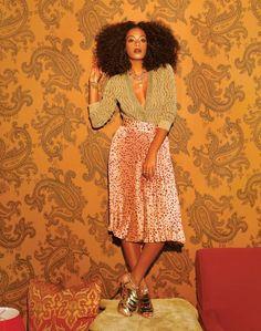 Solange Knowles: Singer, Blue Ivy Babysitter.