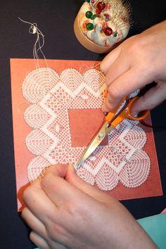 Blog post: Hands Making Bobbin Lace.  Posted 29 May 2016. Read blog on letslace.com