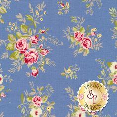 Windermere 18610-16 Lake by Brenda Riddle for Moda Fabrics