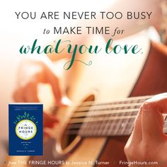The Fringe Hours: In The Fringe Hours: Making Time for You, Jessica Turner shares how to balance our responsibilities while still taking time to invest in ourselves. A MUST READ for every woman who feels she's lost a little bit of herself trying to be all things to all people.