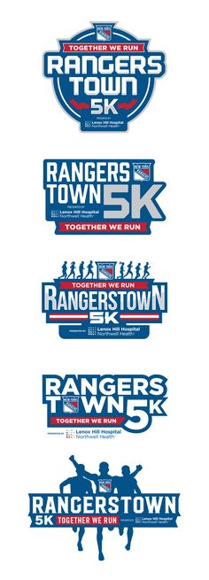 RANGERSTOWN 5K RACE IDENTITY- COMPS on Behance