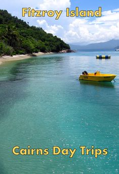 Fitzroy Island, Cairns North Queensland, Australia, Day Trips. Travel around Australia with the Travel Family: My Family Vacation Ideas:  http://www.my-family-vacation-ideas.com/cairns-family-travel.html