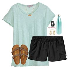 """""""the lake!!"""" by melaniebethc ❤ liked on Polyvore featuring Calypso St. Barth, Patagonia, Kendra Scott, S'well, Stella & Dot, Accessorize, Fitbit and American Eagle Outfitters"""