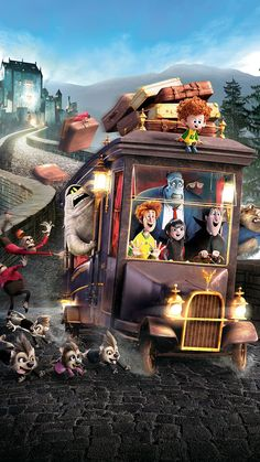 """Wallpaper for """"Hotel Transylvania Movie Wallpapers, Cute Cartoon Wallpapers, Dreamworks Animation, Animation Film, Hotel Transylvania 2 2015, Disney Phone Wallpaper, Secret Life Of Pets, Disney And More, Disney Pictures"""