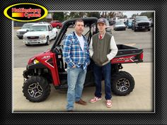 Thanks to John and David Scott from Petal MS for getting a 2017 Polaris Ranger XP 1000. @HattiesburgCycles