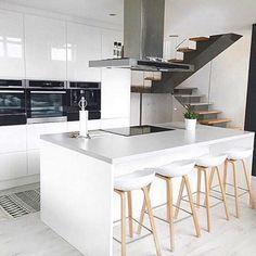 Nordic kitchen inspiration from @medina_h