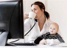 Potrebbe essere un modo alternativo per gestire figli e lavoro - La carica delle mamme in telelavoro. Che ne pensi?
