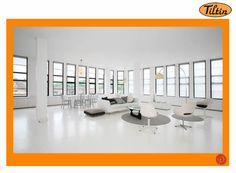 #WindowsMilwaukeeReplacement White Living Room