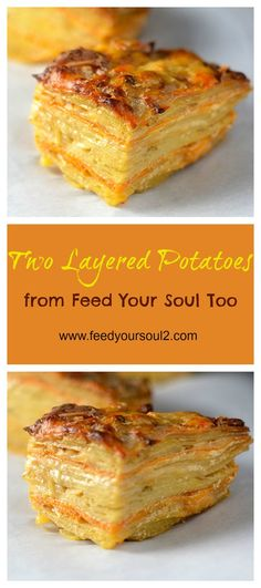 Two Layered Potatoes from Feed Your Soul Too