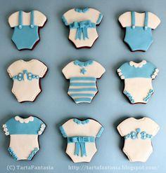 TartaFantasía: Galletas de Bebé. Diseño Body