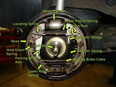 Drum Brake More in http://mechanical-engg.com
