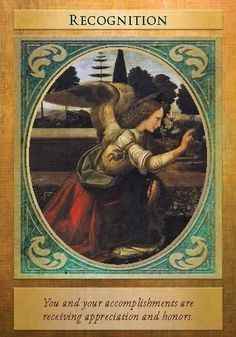 Oracle Card Recognition | Doreen Virtue | official Angel Therapy Web site