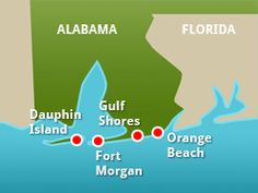 Beaches in ALABAMA~ Charter a fishing boat, enjoy succulent local seafood or ju… – Now YOU Can Build Your Dream Boat With Over 500 Boat Plans! Vacation Places, Vacation Spots, Family Vacations, Vacation Ideas, Alabama Vacation, Gulf Shores Vacation, Orange Beach Alabama, Gulf Shores Alabama, Trout Fishing Tips
