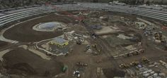 New Apple Campus 2 drone footage shows solid progress