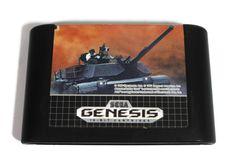 Sega Genesis Abrams Battle Tank Video Game by Drive A Tank, Battle Tank, Sega Genesis, My Etsy Shop, War, Retro, Games, Handmade Gifts