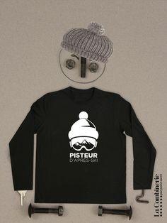 La neige arrive! Enfile ton nouveau pull, vient faire quelques pistes et ensuite vive l'après-ski! Textiles, Pull, Sweatshirts, Sweaters, Fashion, Dance Floors, Snow, Boutique Online Shopping, Sleeve