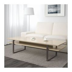 RISSNA Coffee table IKEA Separate shelf for magazines, etc. helps you keep your things organized and the table top clear.