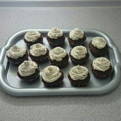 Oreo cupcakes..  Easy and Fast