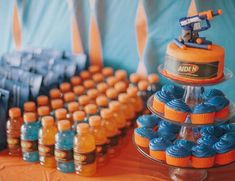 26 Brilliant Nerf War Party Ideas for the Ultimate Battle – Tip Junkie. Nerf War is such a great party theme for both boys and girls of almost any age. 7th Birthday Party Ideas, 11th Birthday, Birthday Kids, Ideas Party, 5th Birthday Ideas For Boys, Women Birthday, Party Party, Party Time, Rolls Royce Silver Shadow