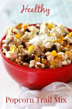 ... on Pinterest | Popcorn Recipes, Popcorn and Popcorn Trail Mixes