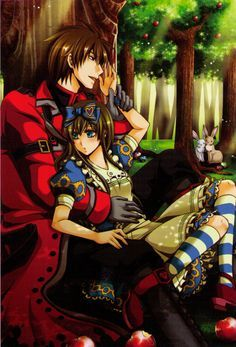 Ace and Alice from Alice in the Country of Hearts.