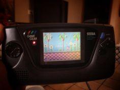 eldake_vn: Partiu jogar um game gear.... #gamegear #segagamegear #sega #sonic #playforfun #gamegear #microobbit