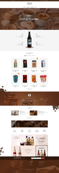 eCommerce, coffee, drinks, wine, food, bakery, organic, Restaurant, minimal, accessories and multi-purpose store