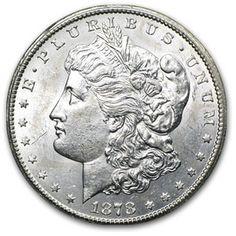 1878-CC Morgan Dollar - Brilliant Uncirculated from APMEX