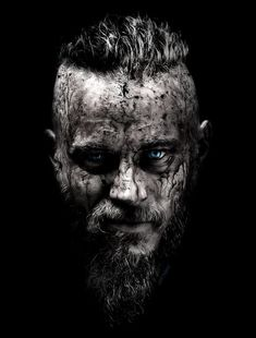 'Ragnar Lothbrok Vikings' Poster by mcache in 2021