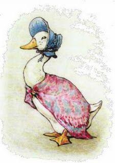 Ducks with hats?: Jemima Puddle-duck, illustration by Beatrix Potter Beatrix Potter Illustrations, Beatrice Potter, Peter Rabbit And Friends, Motifs Animal, Children's Book Illustration, Nursery Art, Bunt, Childrens Books, Illustrators