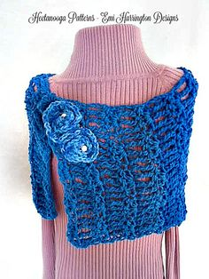 Ravelry: 962-Simple Summer Wrap pattern by Emi Harrington