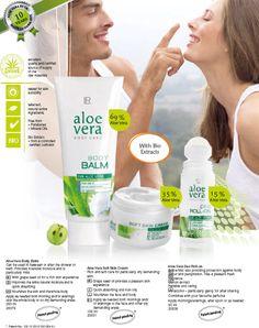Aloe Vera Body Care http://www.lrworldshop.com/aloe-vera/body-care/