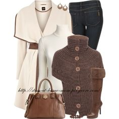 "Career Fashion or Weekend Fashion, Especially the Sweater Top - Fall/Winter Fashion - ""Autumn Layers"" by stay-at-home-mom on Polyvore"