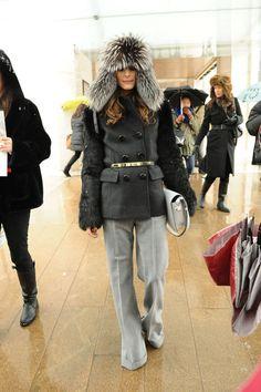 Olivia Palermo Photo - Olivia Palermo Wears a Funky Hat to Fashion Week