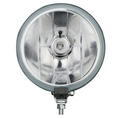 HELLA Driving Lamp Ideal for: - Rural, night driving - Off-road activity Features: - Light-weight design - Aluminum vapor-coated reflector - Impact-resistant reinforced ABS housing - larger than the Series lamps- - Bonded glass lens