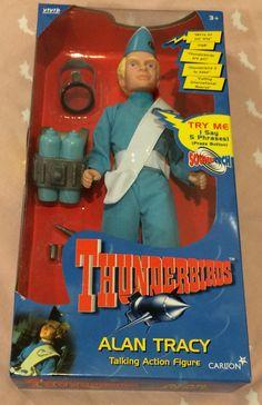 Thunderbirds - Alan Tracey Talking Action Figure