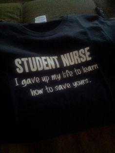 AMEN!! no enjoyment is had during nursing school... all the sucks...much pain.