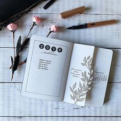 Little update about my 2019 resolution – journal – Bullet Journal Bullet Journal Aesthetic, Bullet Journal Notebook, Bullet Journal Hacks, Bullet Journal Spread, Bullet Journal Layout, Journal Inspiration, Bellet Journal, Scrapbook Journal, School Scrapbook