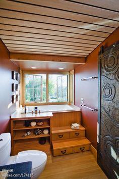 10种日式泡浴缸,完美沐浴