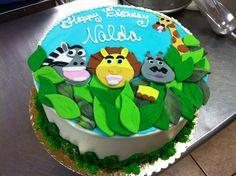 Madagascar birthday cake by Christina De Vries
