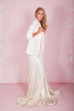 Beatrice Top, Belle Skirt & Clover Blazer