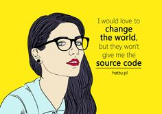 Geek Girl want to change the world